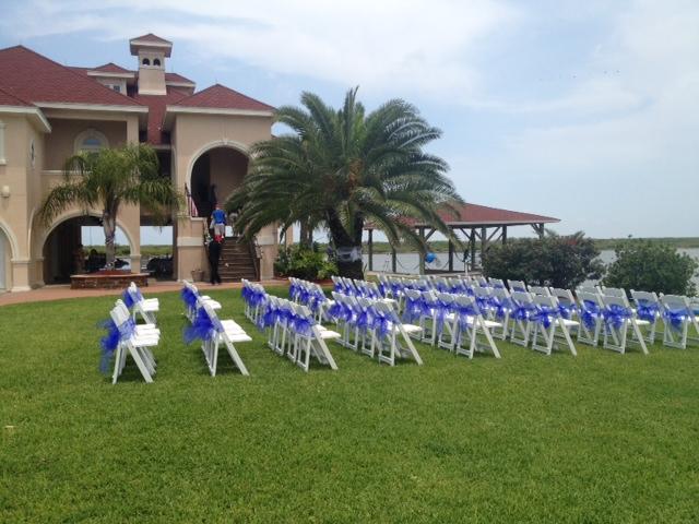 Crystal Beach Villa Premier Waterfront Al Wedding Seating 2